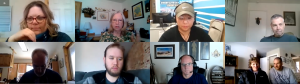 Screen shot of the 2021 CCLOA Meeting